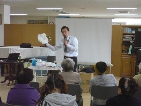 岡山の特別養護老人ホーム【愛光苑】家族介護教室5回写真
