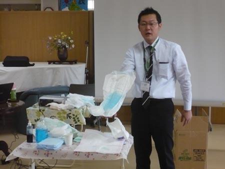 岡山の特別養護老人ホーム【愛光苑】家族介護教室5回写真2