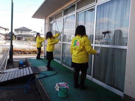 岡山の特別養護老人ホーム【愛光苑】歳末ボランティア5