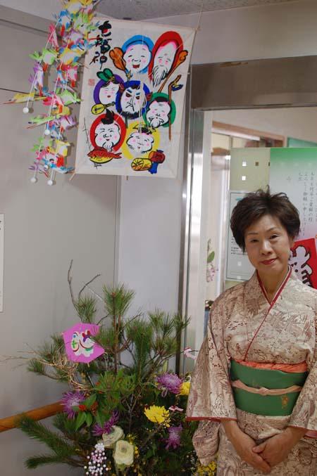 岡山の特別養護老人ホーム【愛光苑】2013年新年-4