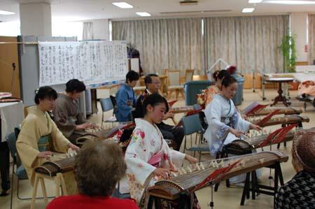 岡山の特別養護老人ホーム【愛光苑】2013年新年-6