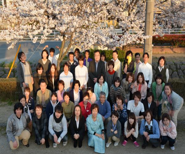 岡山の特別養護老人ホーム【愛光苑】平成26年職員写真