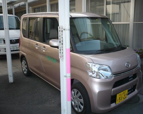 岡山の特別養護老人ホーム【愛光苑】新型送迎車導入1