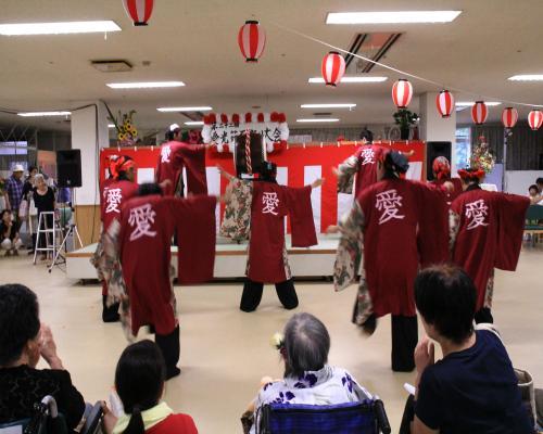 岡山の特別養護老人ホーム【愛光苑】2013 夏祭り画像3