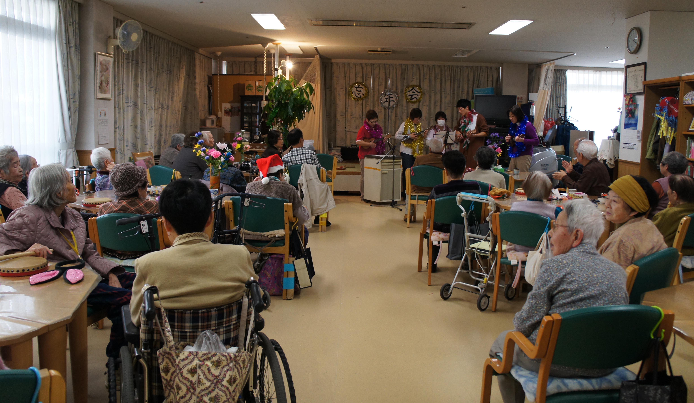 特別養護老人ホーム【愛光苑】忘年会写真