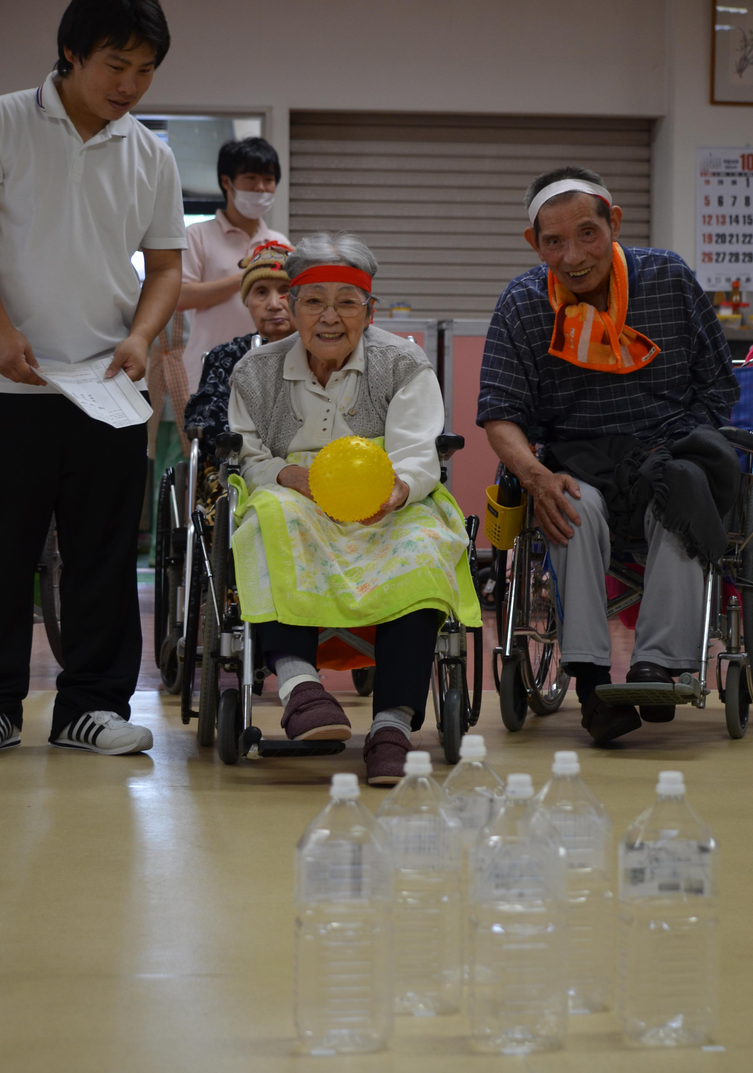 特別養護老人ホーム【愛光苑】ゲーム大会写真