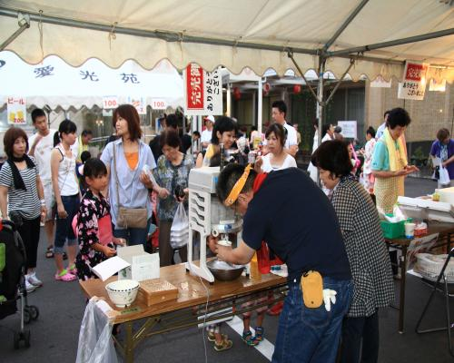 特別養護老人ホーム【愛光苑】H24夏祭り4