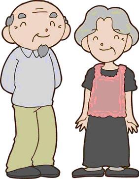 岡山の特別養護老人ホーム【愛光苑】家族介護イラスト