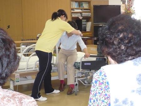 特別養護老人ホーム【愛光苑】「負担の少ない介助方法」5